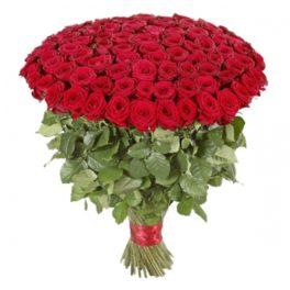 Mazzo 101 rose rosse acquisto e invio online consegna a domicilio