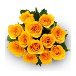 Mazzo di rose gialle