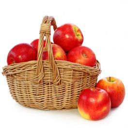 Cesto di mele da regalare