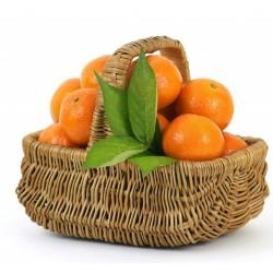 cesto con mandarini