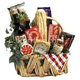 Cestino Gastronomico alimentare con specialità italiane