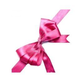 fiocco rosa per confezioni regalo