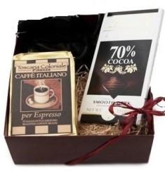 Set regalo con Caffè e Cioccolato fondente