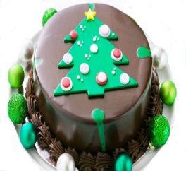 Torta di Buon Natale - Per Augurare Buon Natale invia torta